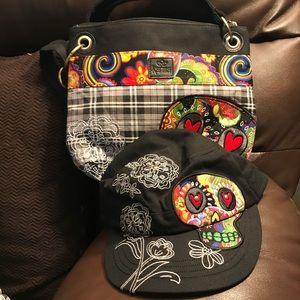 Karma purse/hat set
